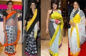 MASABA Saree Style!