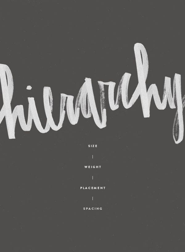 hierarchy ~ Design Terms Archives » Eva Black Design