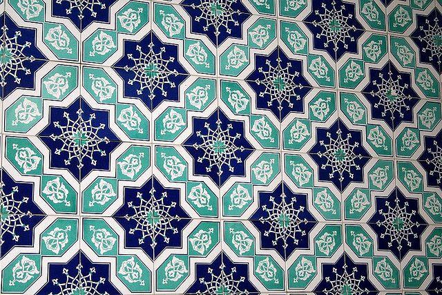 oohm.com.au -Turkish pattern tiles = inspiational