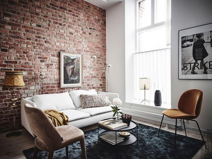 comment d limiter une entr e dans un salon industrial. Black Bedroom Furniture Sets. Home Design Ideas