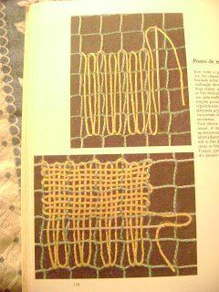 FAZENDO ARTE com fios, tecidos e diversas tramas...: Renda Filé ou Filet