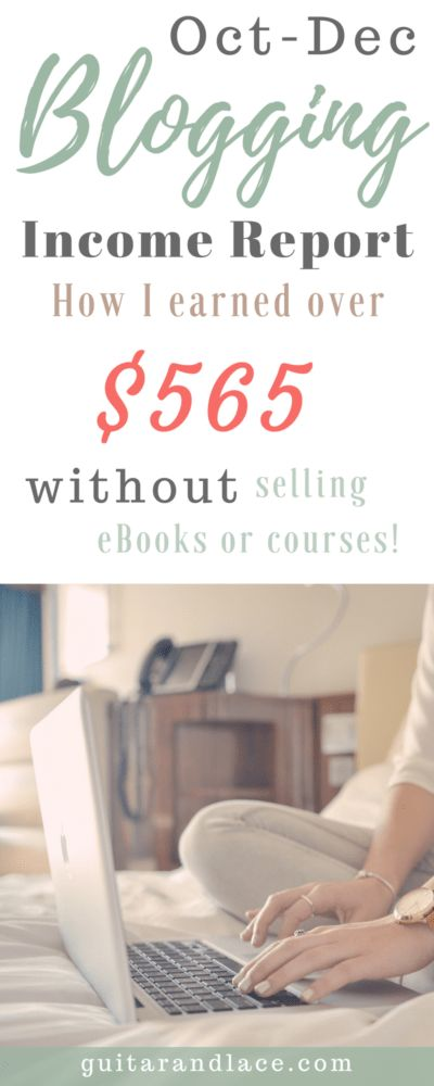 Find out how this new blogger earned over $565 on affiliate and ad income alone! (P.s. I didn't have to sell any daunting courses or eBooks either!)