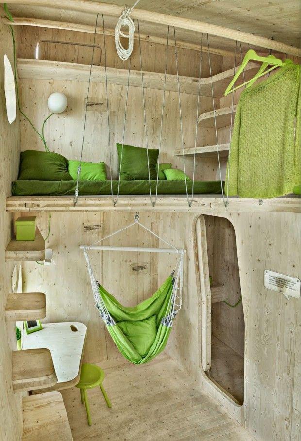 Habitation d'étudiants par Tengbom Architects