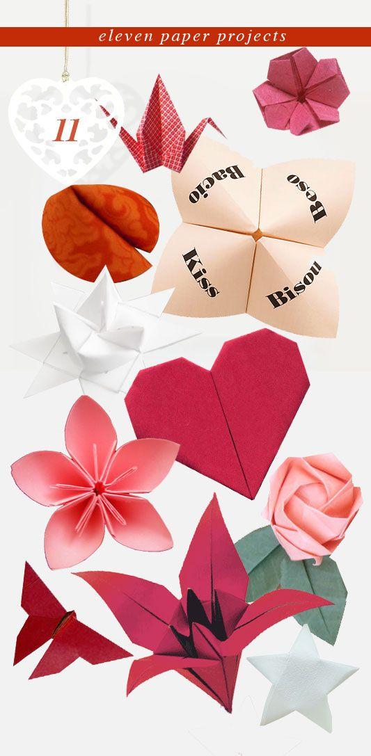 muchos origamis