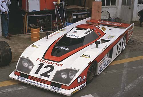 The Japanese Dome Zero was not successful in its runs at Le Mans in 1979-80.
