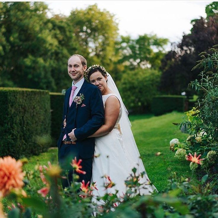 A beautiful photo of Bec & Chips by @angelawardbrown  They were married at St Cross Church on Saturday and then reception with us alongside the River Test. . . .  #houghtonlodgegardens #angelawardbrown #weddingvenue #weddingphotography #hampshiregardens #houghtonlodgeweddings #weddings