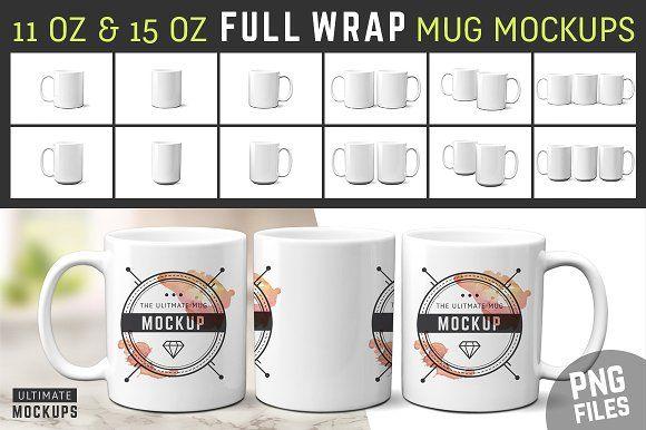 11 Oz 15 Oz Mug Mockups Pngs Mugs Mockup Mockup Templates