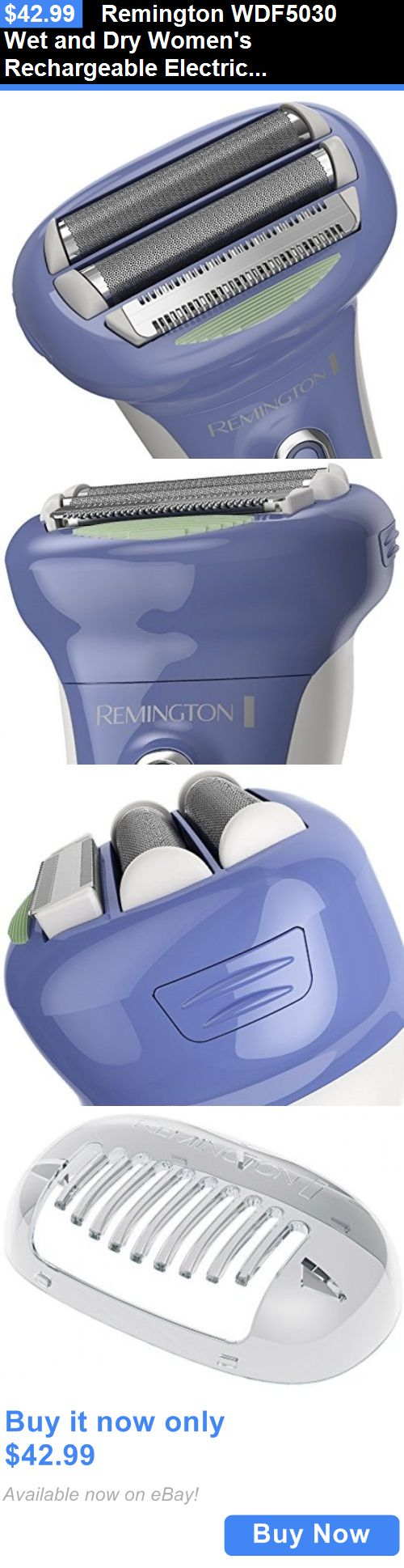 Womens Shavers: Remington Wdf5030 Wet And Dry Womens Rechargeable Electric Foil Shaver, Razor BUY IT NOW ONLY: $42.99