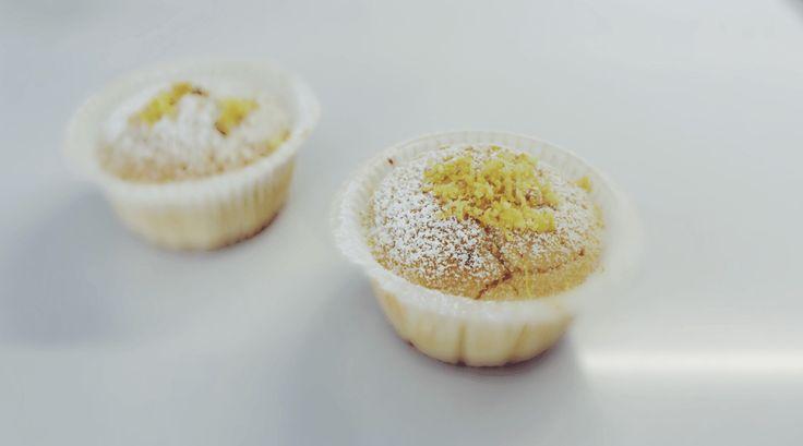Кексы с лимоном и ванилей