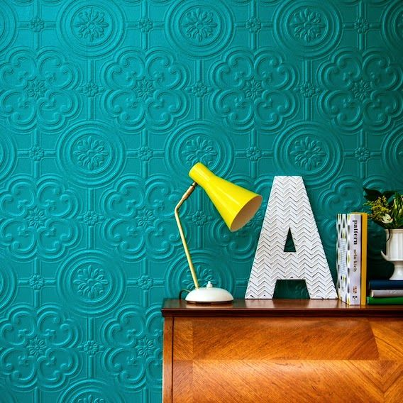 Throwback Anaglypta wallpaper – from just £8 a roll
