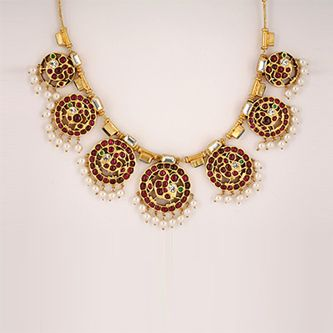 pleasant temple jewellery collections from sukra jewellery.for more visit:http://creativelycarvedlife.blogspot.in/