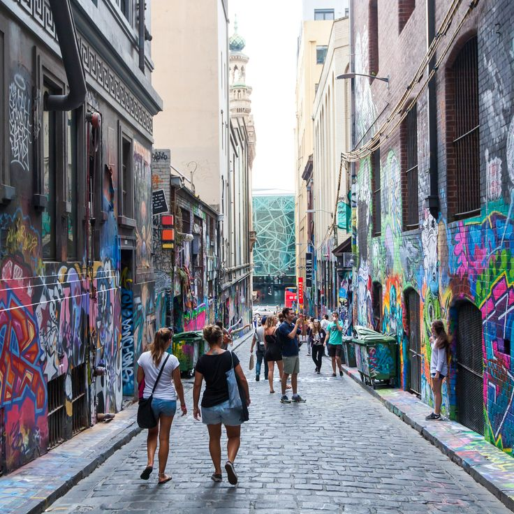 Melbourne is also renowned as a capital of street art, Check out Hosier Lane, Union Land, Caledonian Lane and Degraves street within Melbourne city. #melbourne #streetart