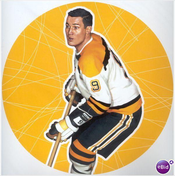 2005 NHL ALL-STARS Lithograth John Bucyk 11 X 14 Inc