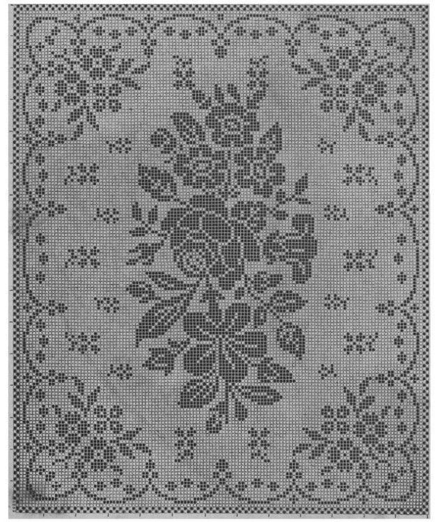World crochet: Tablecloth 84