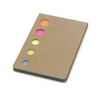 Set #promotional de #stickere colorate Mylar de tip #post-it, in 5 culori: portocaliu, roz, galben, verde si albastru. Ambalat intr-o coperta de carton cu gauri pentru vizilibitatea culorilor. Setul poate fi #personalizat la cerere, cu detaliile specifice #brand-ului tau, fiind astfel un articol promotional nelipsit din campaniile de #promovare pe care le pregatiti, mai ales in apropierea inceperii anului universitar sau scolar.