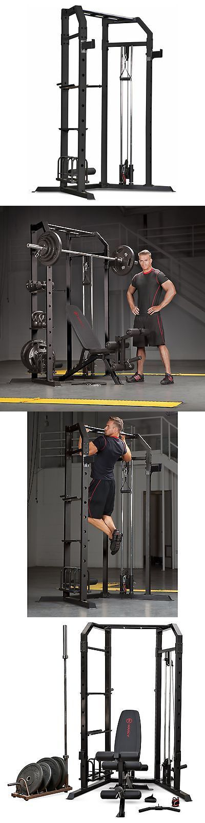 Home Gyms 158923: Marcy Olympic Strength Cage, Black/Gray -> BUY IT NOW ONLY: $349.99 on eBay!