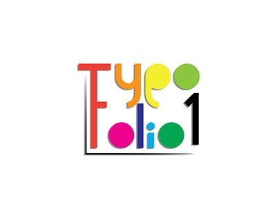 "Check out new work on my @Behance portfolio: ""TypoFolio 1"" http://be.net/gallery/48009089/TypoFolio-1"