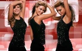 Holly Valance cool dancer
