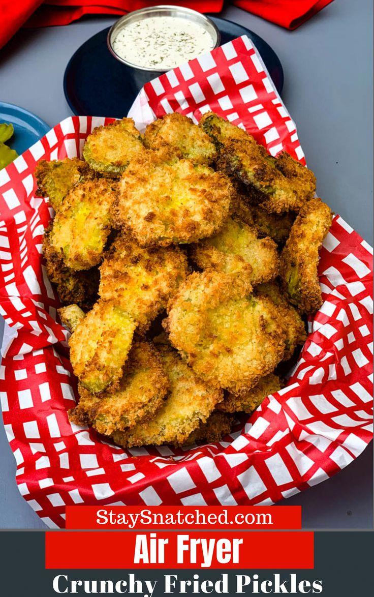 Appetizers Recipe in 2020 Fried pickles, Air fryer
