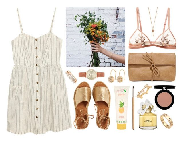 """""""Donna Lucia"""" by sophiehackett ❤ liked on Polyvore featuring Cooperative, Kaanas, Marc Jacobs, LULUS, 100% Pure, Orla Kiely, Giorgio Armani, Aéropostale, Henri Bendel and Cartier"""