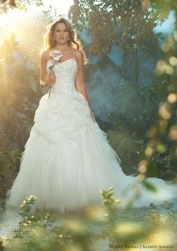 disney fairy tale bridal alfred angelo 2013 sleeping beauty wedding dress