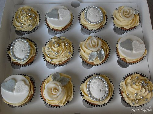Google Image Result for http://www.thecupcakeblog.com/wp-content/uploads/2012/04/Silver-Wedding-Anniversary-Cupcakes.jpg
