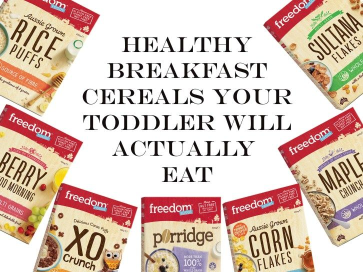 healthy breakfast cereals your toddler will actually eat, the natural mumma, freedom foods