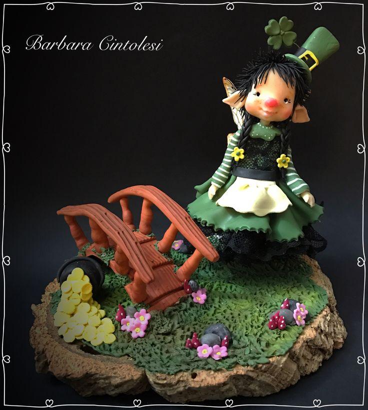 Nugget - fairy puppet - folletti