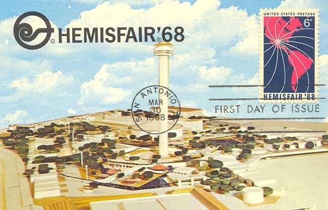 Hemisfair 1968 World S Fair San Antonio Texas