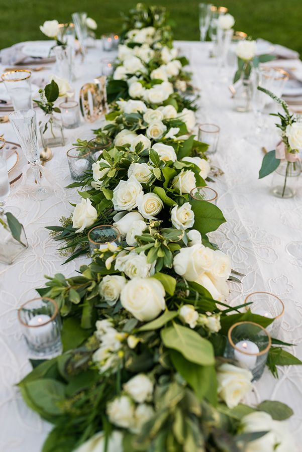 Timeless Wedding Day Color Scheme