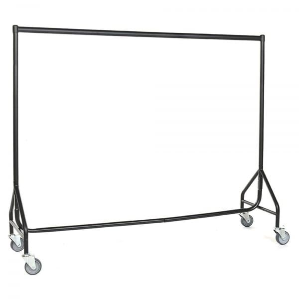 Reinforced Heavy Duty Clothes Rail with Wheels