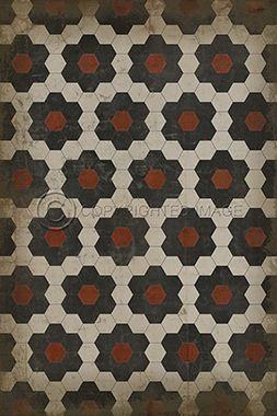 Spicher & Co. Vinyl Floor Cloth Pattern 2 Organic Synthesis