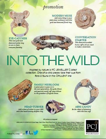 Jewellery designs  Inspired by nature ,