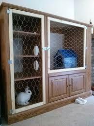 Resultado de imagem para DIY rabbit hutch out of old dresser
