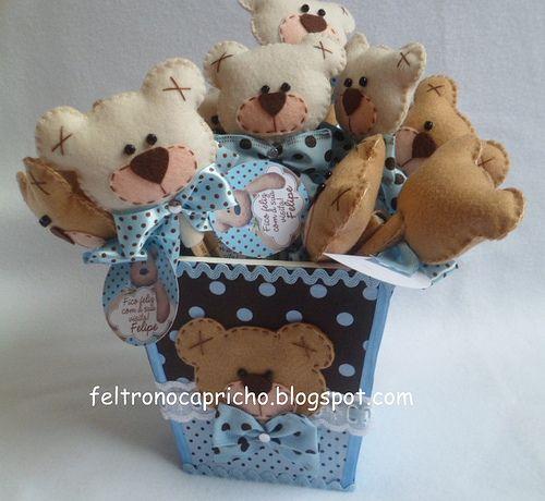Lembrancinhas ursinhos