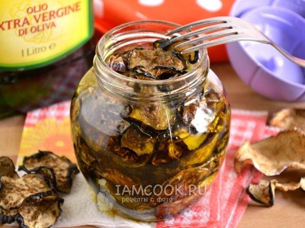 Рецепт вяленых баклажанов в оливковом масле