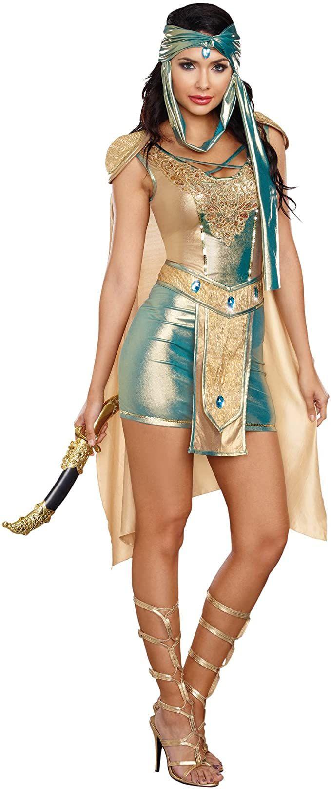 Dreamgirl Scorpion Warrior queen costume, XL
