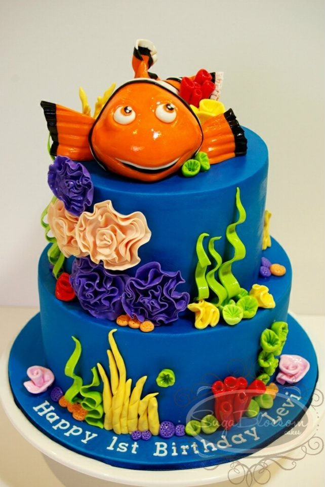 1000 Images About Sea Themed Cakes On Pinterest Ocean