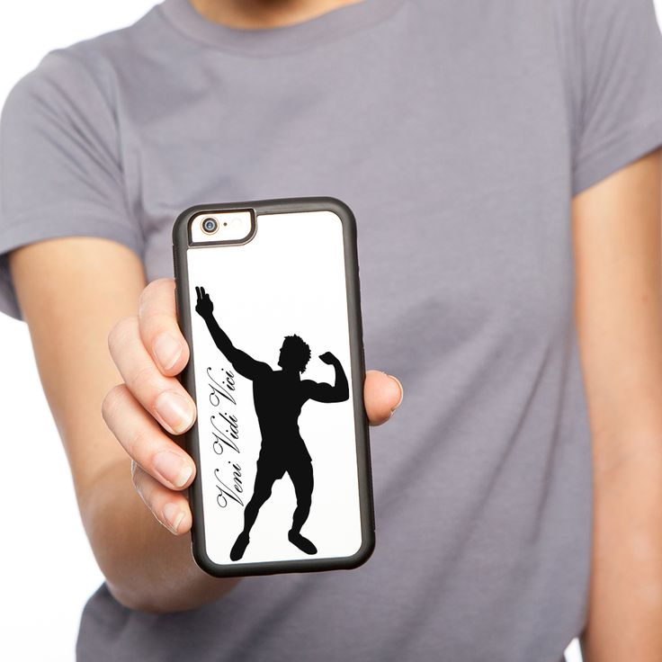 Zyzz iPhone 6 Rubber Case! Get your own from Ripped Generation! #Zyzz #VeniVidiVici #RippedGeneration #PhoneCase