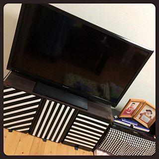 収納×カラーボックス 横置きのインテリア実例 | RoomClip (ルームクリップ) Lounge/カラーボックス/テレビ台/収納/100均/DIY/手作り