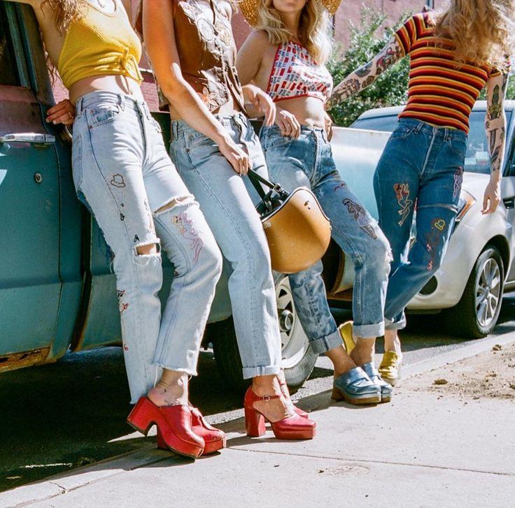 {Estilo} A volta do Jeans customizado - IdeaFixa