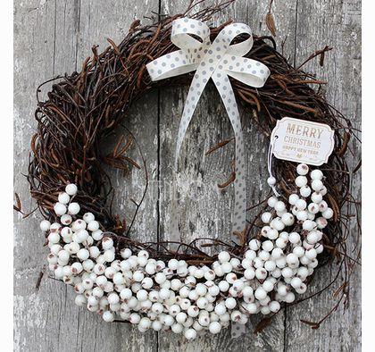 Święta wianek / stroik dekoracyjny