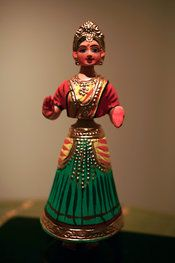 Tanjore Wobble-head Dolls | Chola Impressions - Exquisite Tanjore Paintings, Indian Handicrafts & more