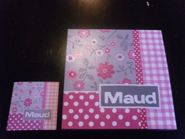 Atelier Myrna - geboorteschilderij Maud