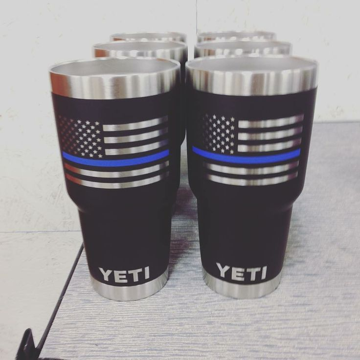Thin blue line YETIs