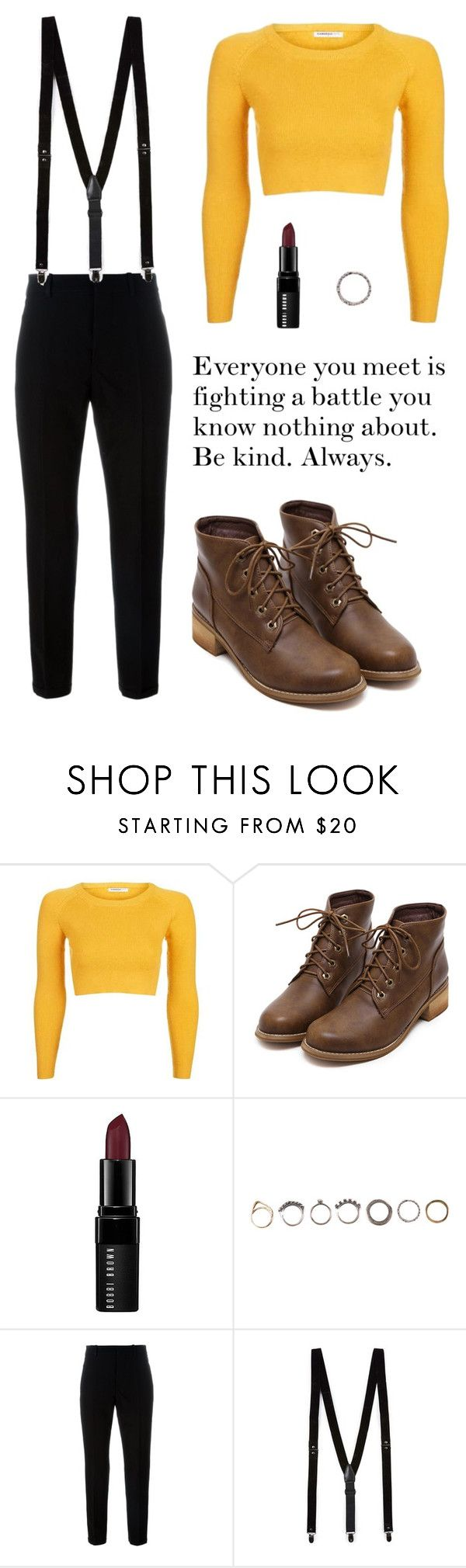 """#76"" by howl-owl ❤ liked on Polyvore featuring Topshop, Bobbi Brown Cosmetics, Iosselliani, Marni, Topman, noora, skam, noorasaetre, skamnoora and nooraskam"