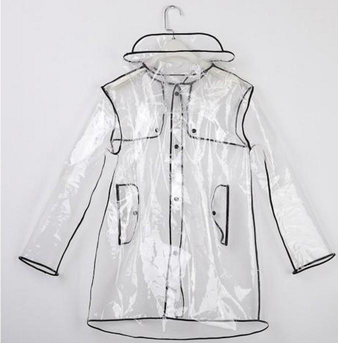 Fashion Short/Long Clear Transparent PVC Runway Jacket Rain Coat Men Womens Girl from ebay.co.uk. Saved to Things I Want.