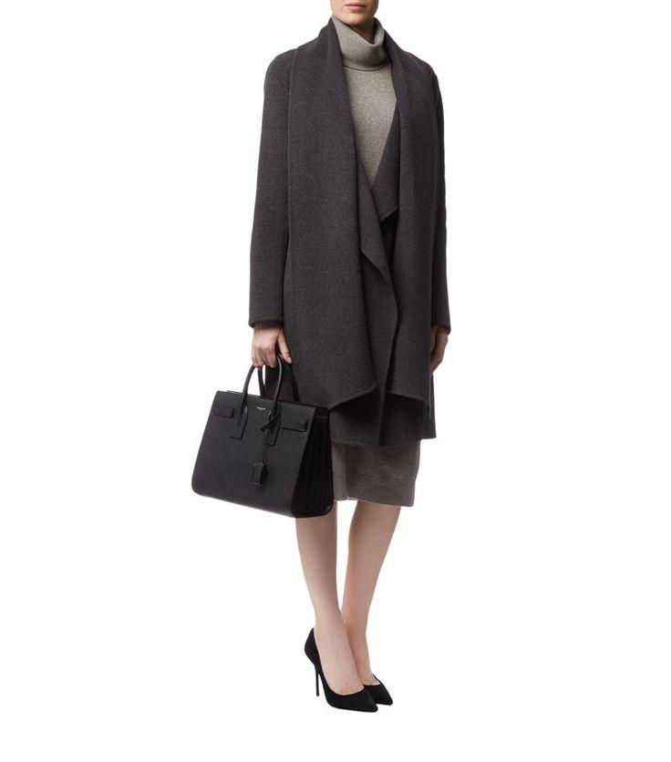 Донна Каран шарф шеи кашемировые пальто | Harrods