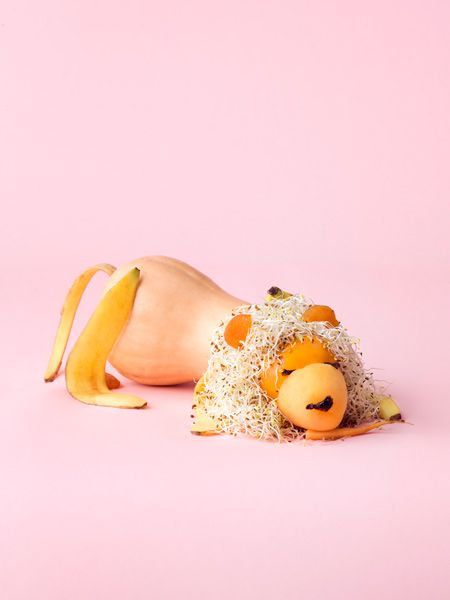 Playing with food by Carl Kleiner.
