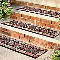 Decorative Outdoor Stair Treads | Stair Treads These Handsome Patio Stones Outdoor  Rubber Stair Treads .